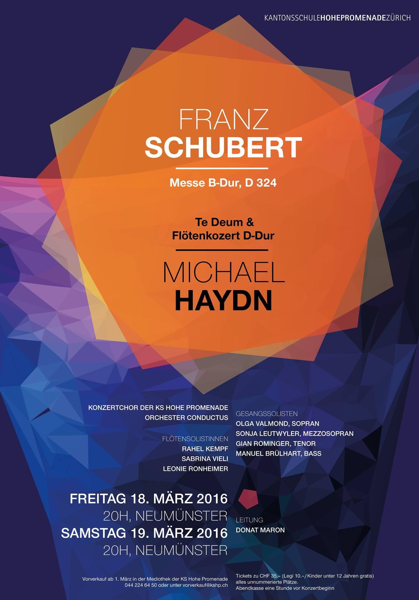 Franz Schubert, Messe B-Dur
